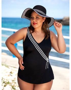 Bahama 101-644 большой слитный купальник с юбкой