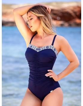 Bahama 101-671 модный сплошной купальник