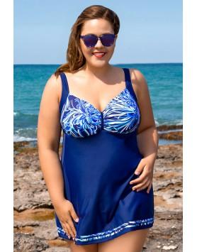 Bahama 101-702 слитный купальник платье
