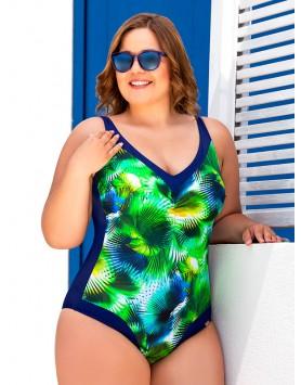 Bahama 101-706 яркий купальник большого размера