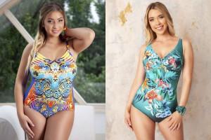 Женские купальники больших размеров от бренда Bahama - новая коллекция 2021 года для полных дам