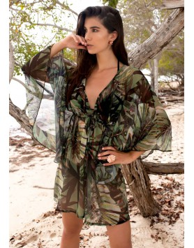 Garotas 0568 модная пляжная туника для женщин