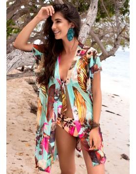 Garotas 0572 пляжная накидка на купальник