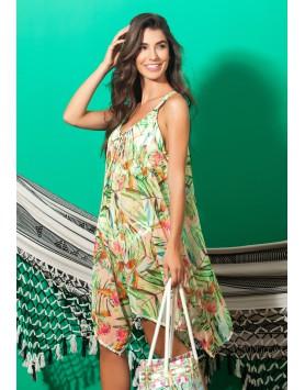 Garotas 0640 летнее пляжное платье