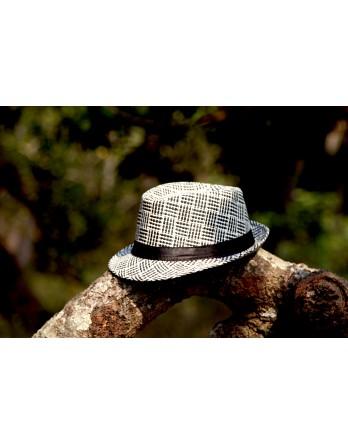 Hat White/Black