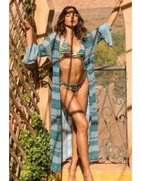 Maryssil 6001 женская пляжная туника макси в пол