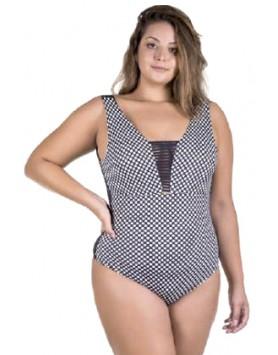 Maryssil 6012 женский слитный купальник plus size