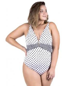 Maryssil 6061 женский совместный купальник plus size