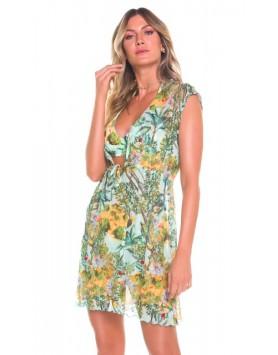 Maryssil 600221 летнее пляжное платье сетка