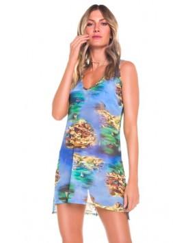 Maryssil 600521 женское  пляжное платье сетка
