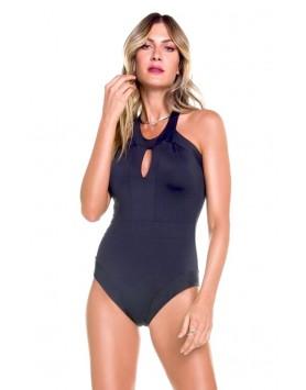 Maryssil 601421 черный слитный женский купальник