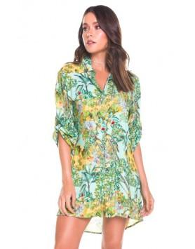 Maryssil 602721 женская пляжная рубашка