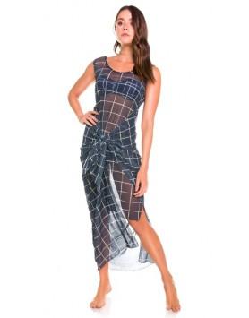 Maryssil 604221 длинное пляжное платье сетка