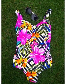 Yaffa 240-0221 женский сплошной купальник