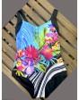 Yaffa 240-0741 слитный купальник для полных