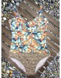 Yaffa 268-5231 слитный купальник на косточках